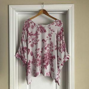 ASOS dolman sleeve floral blouse, 14/16
